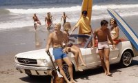 Beach Day in the 1960s